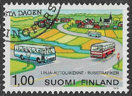 Finland SG934 1978 Provincial Bus Service 1m Good/fine Used [39/31811/6D] - Finland
