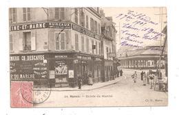 Meaux-Entrée Du Marché-(C.8769) - Meaux