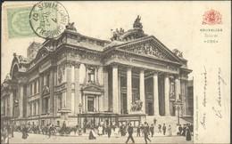 BRUXELLES :  La Bourse 1907 - Monuments, édifices