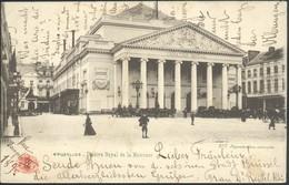 BRUXELLES :  Théatre De La Monnaie - Monuments, édifices