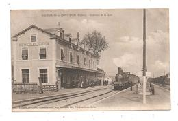 St.Germain-au-Mont-D'Or -Intérieur De La Gare- Train-(C.8771) - Gares - Avec Trains