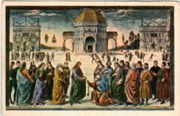 51do 248 CPA - ROMA - CAPELLA SISTINA - Pittura & Quadri