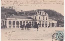 25 Doubs - BESANCON - Gare De La Mouillère - Cavaliers - Forts Beauregard Et Bregille - Besancon