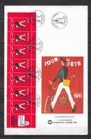 France Premier Jour De La Bande Carnet BC2794 Journée Du Timbre  6 Mars 1993 - France