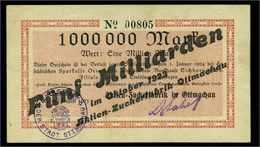 5Mrd. Mark 1923 Aushilfsschein Siehe Beschreibung (103968) - Germany