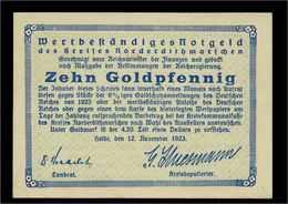 10Goldpfennig 1923 Aushilfsschein Siehe Beschreibung (103954) - Germany