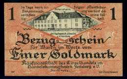 1Goldmark 1923 Aushilfsschein Siehe Beschreibung (103957) - Deutschland