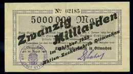 20Mrd. Mark 1923 Aushilfsschein Siehe Beschreibung (103967) - Germany