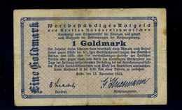 1Goldmark 1923 Aushilfsschein Siehe Beschreibung (103951) - Germany