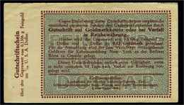 1923 Aushilfsschein 0,1506gr. Feingold Siehe Beschreibung (103950) - Germany
