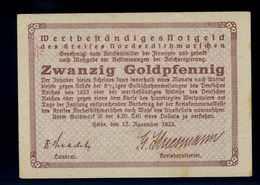20Goldpfennig 1923 Aushilfsschein Siehe Beschreibung (103953) - Germany