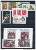 (G) -- SMOM  1983 -- Annata Completa + 1 MINISHEET -- Years Complete ** - Malte (Ordre De)