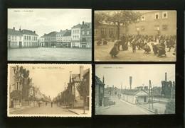 Beau Lot De 20 Cartes Postales De Belgique  Iseghem     Mooi Lot Van 20 Postkaarten Van België  Izegem  - 20 Scans - Cartes Postales