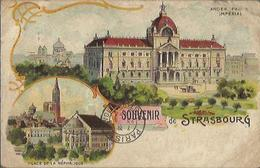 4207 CPA Strasbourg - Ancien Palais Impérial - Souvenir De Strasbourg - Strasbourg
