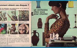 DISQUE 45 TOURS PUBLICITAIRE SUPER PETIT EXQUIS L'ALSACIENNE / J'AIME / LE FOLKLORE AMERICAIN - Vinyl Records