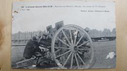 PERTHES-LES-HURLUS.(Marne). Le Canon De 77 Allemand. - Guerre 1914-18