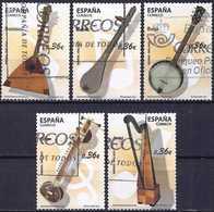 Spain 2012 - Musical Instruments ( Mi 4683/87 - YT 4388/92 ) Complete Issue - 1931-Aujourd'hui: II. République - ....Juan Carlos I