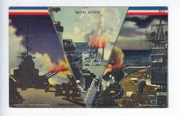 CPA Militaria USA War U.S. Navy Naval Action Fort Kent Maine - Etats-Unis
