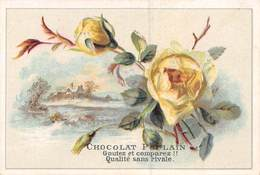 FRP-19-167 : CHOCOLAT POULAIN. FLEURS. MAISON - Poulain