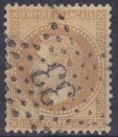 Etoile 33 Sur Lauré N°28. - 1863-1870 Napoléon III Lauré