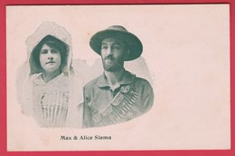 Afique Du Sud / South Africa - Max & Alice Slema  ( See Always Reverse ) - South Africa