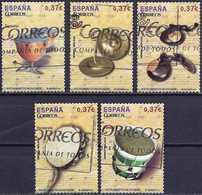 Spain 2013 - Musical Percussion Instruments ( Mi 4762/66 - YT 4467/71 ) Complete Issue - 1931-Aujourd'hui: II. République - ....Juan Carlos I