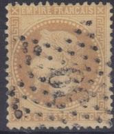 Etoile 39 Sur Lauré N°28. - 1863-1870 Napoléon III Lauré