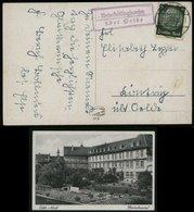 S6658 - DR Postkarte Marienhospital Oelde Mit Landpoststempel: Gebraucht Unterheilighausen über Oelde 1941, Bedarfserh - Allemagne