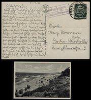 S6657 - DR Postkarte Ostseebad Bodenhagen Mit Landpoststempel: Gebraucht Bodenhagen über Kolberg - Berlin 1940, Bedarf - Deutschland