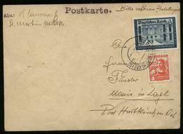 S6599 - DR Österreich Ostmark 4 Pfg Postkameradschaft MiF Auf Postkarte : Gebraucht St. Martin 1938, Bedarfserhaltung. - Allemagne