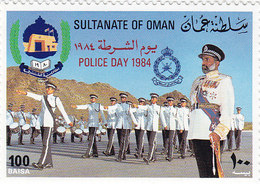 Oman 1984 Police Day  1v.complete Set MNH- Reduced Price- SKRILL PAY  ONLY - Oman