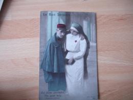 Guerre 14.18 Le Bon Secours Blesse Infirmiere - War 1914-18
