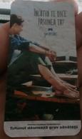 ROMANIA-CIGARETTES  CARD,NOT GOOD SHAPE-0.80 X 0.40 CM - Tabac (objets Liés)