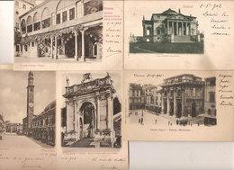 (C).Vicenza.Lotto Di 5 Cartoline.F.to Piccolo.Viaggiate Nel 1901 E 1902 (c18) - Vicenza
