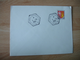 Etampes C P 16  Recette Auxiliaire Obliteration Sur Lettre - Marcophilie (Lettres)