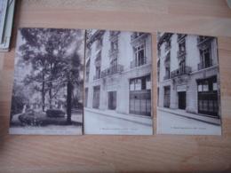 Lot De 3 Hotel Ritz Rue Cambon Hopital Auxiliaire 226   Guerre 14.18 - Guerre 1914-18