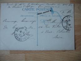 Dijon Guichet   Cachet Franchise Postale Militaire Guerre 14.18 - Marcophilie (Lettres)