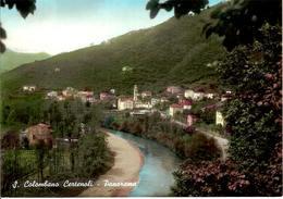 (C).S.Colombano Certenoli(GE).Panorama.Viaggiata 1966 (c16) - Genova (Genoa)