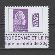 FRANCE / 2019 / Y&T N° ?2019/01 ** : Marianne De Digan (gommée De Feuille) TVP International BdF Bas - Gomme D'origine - France