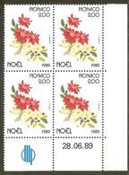 MONACO N°1701** Bloc Coin Daté De 4 Valeurs (28/06/1989) - COTE 11.20 € - Nuovi