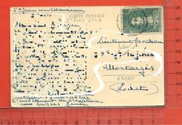 CARTE NOMINATIVE: Militaria Lieutenant HONDEAU à 45200 Montargis - Cartes Postales