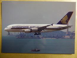 SINGAPORE AIRLINES AIRBUS A 380   9V SKB - 1946-....: Era Moderna