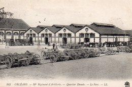 9798. CPA 45 ORLEANS. 30è REGIMENT D'ARTILLERIE. QUARTIER DUNOIS. LE PARC - Orleans
