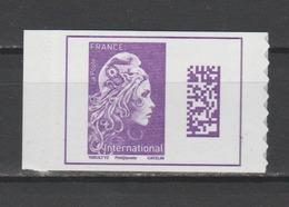 FRANCE / 2019 / Y&T N° AA 36?? ** : Marianne De Digan (du Carnet Nouvelle Marianne International Guichets) 1 TVP BdC - Adhésifs (autocollants)
