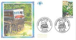 FDC Centenaire Train Ajaccio Vizzanova (20 Ajaccio 29/06/1996) - FDC