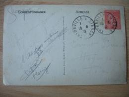 Thionville A Sierck Cachet Ambulant Convoyeur Poste Ferroviaire Sur Lettre - Poststempel (Briefe)