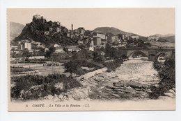 - CPA CORTÉ (20) - La Ville Et La Rivière - Editions Lévy N° 4 - - Corte