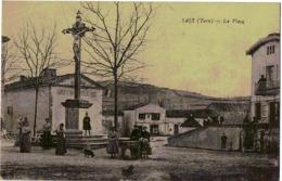 C.P.A. 81. Tarn. Saïx. La Place( En L'état) - France