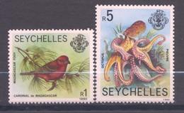 Seychelles, Yvert 731&732, 1990, MNH - Seychelles (1976-...)