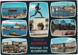 Helsinki Helsingfors  Suomi Finland - Terveiset Helsingistä / Hälsningar Fran Helsingfors - Finland